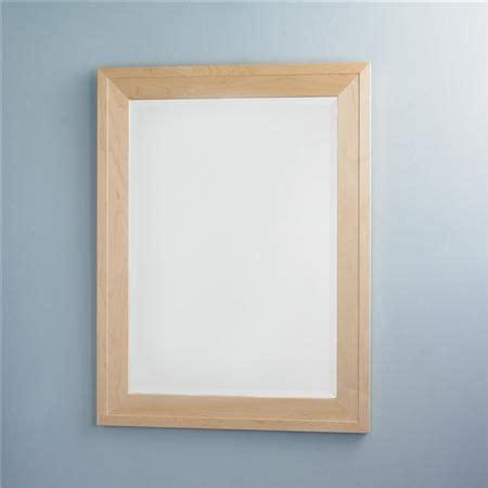 Maple Bathroom Mirror by Maple Wood Frame Mirror Shades Of Light Master
