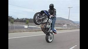 Gsxr 600 Standup Wheelie 101 Freeway South Slo  Ca