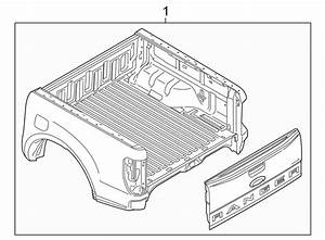 Ford Ranger Truck Bed Assembly  Crew Cab