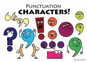 Image Gallery punctuation marks