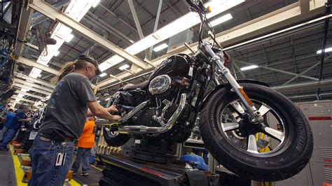 Harley-davidson Plans To Build A Manufacturing Plant In