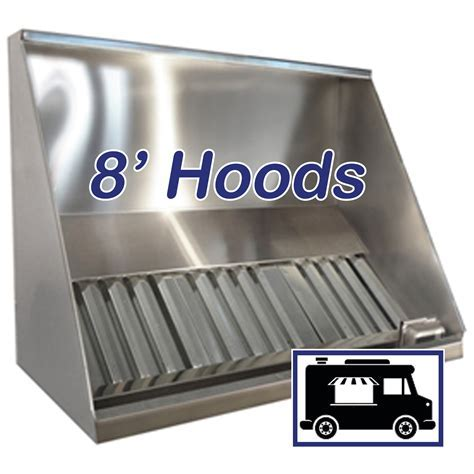 "8' Concession Vent Hood   96"" Concession Trailer & Food"