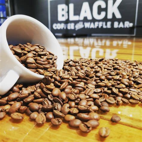 Black coffee & waffle bar's first location on como is a huge success, says kurt gough, founding partner, shelter architecture. Black Coffee and Waffle Bar - Magazine