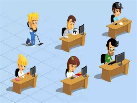 Office Workers Animation Youtube