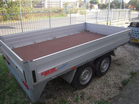 carrello porta auto usato miniescavatore rimorchio porta auto usato