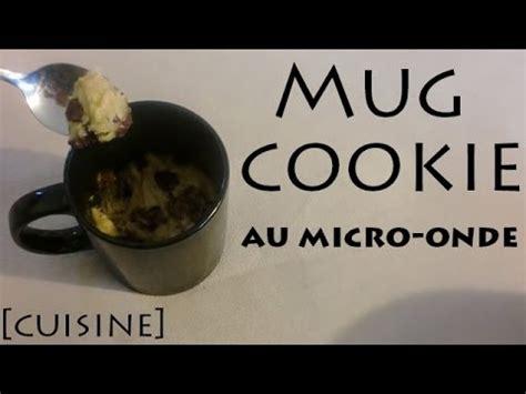 cuisine au mug cuisine mug cookie au micro onde mmh