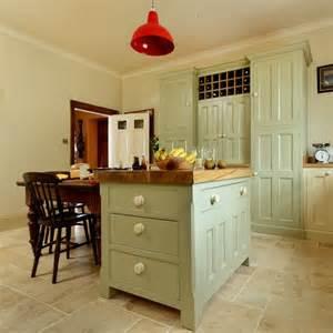 island units for kitchens country kitchen painted island unit housetohome co uk