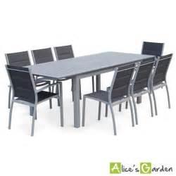 Table De Jardin Carrée 8 Personnes Aluminium by Salon De Jardin 8 Places Table 224 Rallonge Extensible 175