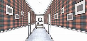 blog papiers peints de marques inspiration decoration With couleur pour couloir sombre 5 du papier peint pour votre couloir blog au fil des