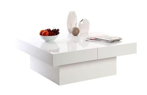 table basse blanc laqué pas cher miliboo table basse design laureen plateaux ouvrants laqu 233 blanc ventes pas cher