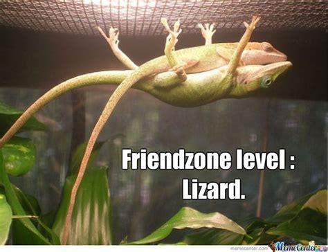Lizard Meme - fiendzoned lizard by druss meme center