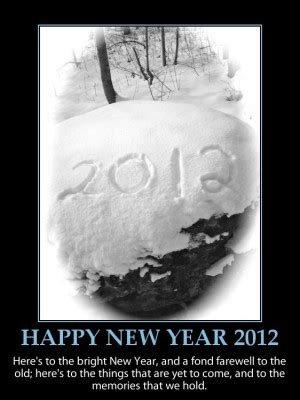 beautiful quotes for new year 2012