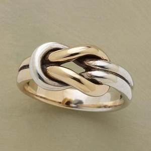 inspirations love knot wedding ring mirrorrim With the knot wedding ring