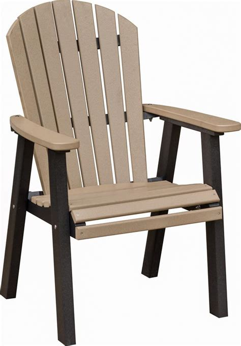 berlin gardens comfo back outdoor poly dining chair from