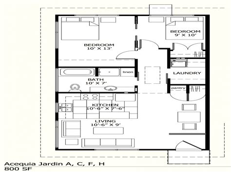 Home Design 800 Square Feet : House Plans Under 800 Sq Ft House Plans With Porches, 800