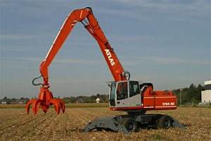 Terex Atlas 1704 Excavator Service Manual Download