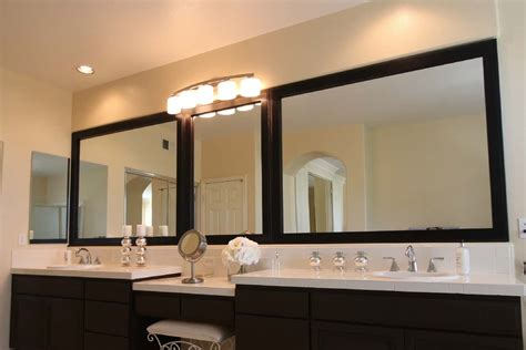 Large Bathroom Mirror Frame by Mirror Frame Kits For Existing Mirrors Mirrorchic