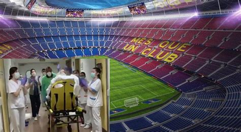 Adapta Barcelona su himno a lucha contra coronavirus