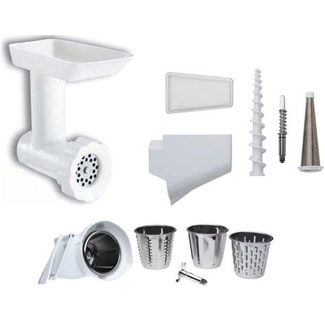 kitchen aid accessories kitchenaid food grinder and attachment pack stand mixer