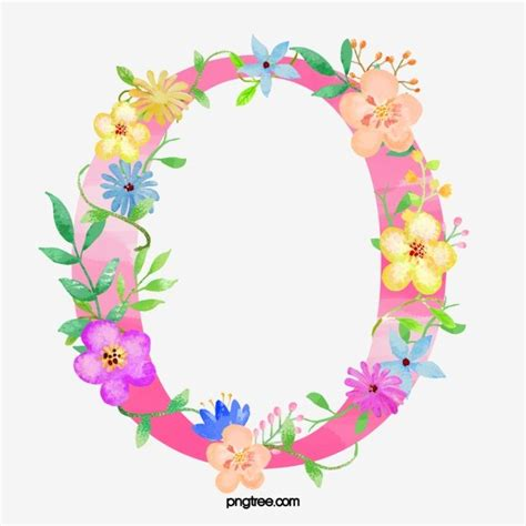 flowers letter  letter clipart letter  png transparent clipart image  psd file