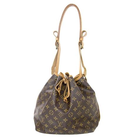 louis vuitton monogram noe bucket bag ghw  stdibs