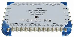 Turkey Market 14in 8out Cascade Satellite Multiswitch Products