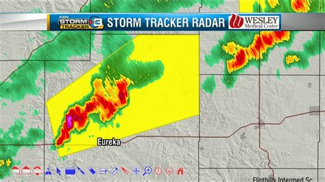 Severe Storm Warning For Greenwood County