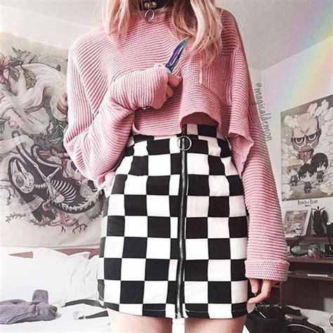 Skirt itgirl shop kfashion korean fashion fashion tumblr southkorean ulzzang streetstyle ...