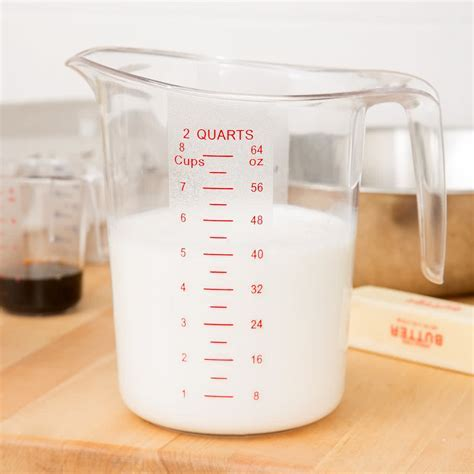 2 Qt. Polycarbonate Measuring Cup in from Simplex Trading