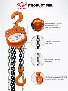 Cheap 500 Kg Manual Hoist Good Quality Popular Chain Hoist
