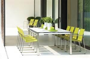 gloster outdoor furniture modern outdoor dining sets