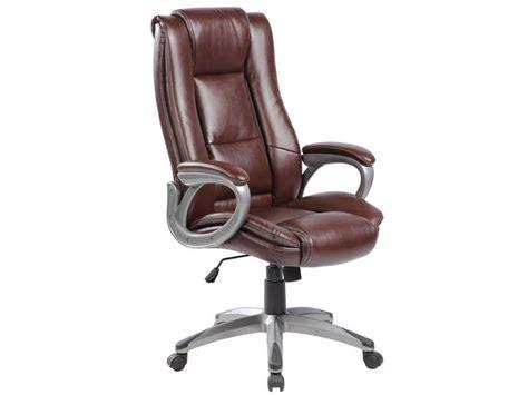 conforama fauteuil de bureau fauteuil de bureau coach coloris marron vente de