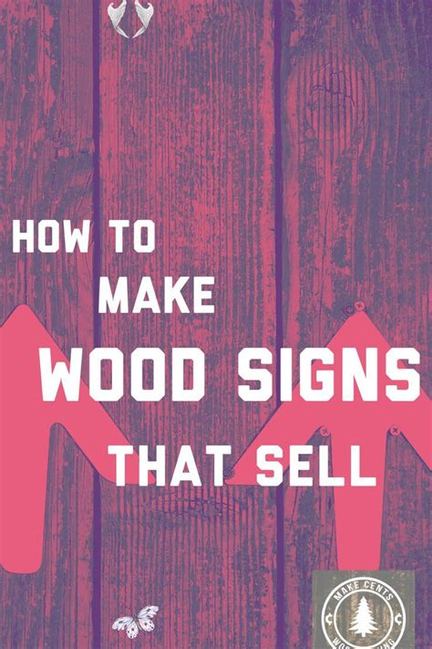 wood signs  sell