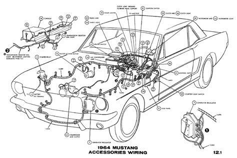 1967 Mustang Vacuum Diagram by 1967 Mustang Fuse Box Wiring Diagram