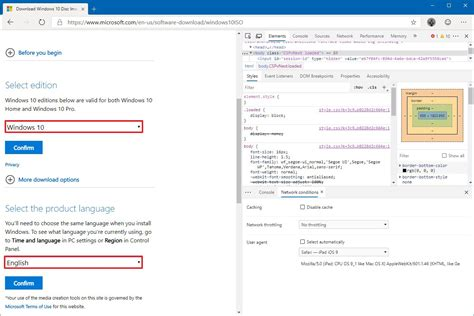 windows iso chromium edge creation tool without pureinfotech official pick language drop menu down