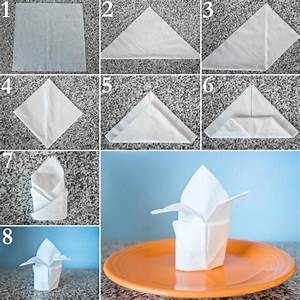 Serviettenfalttechniken Mit Papierservietten : falten sie die krone zu einem fest ~ Watch28wear.com Haus und Dekorationen