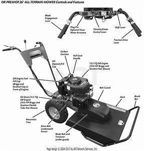 Dr All Terrain Field And Brush Mower Parts
