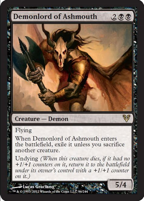 demonlord avacyn restored mtg spoiler card demon cards magic deck gathering creature planeswalker rarity rare