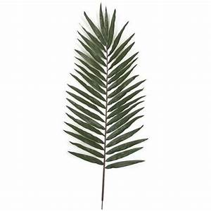 116cm Artificial Decorative Giant Palm Leaf - Green