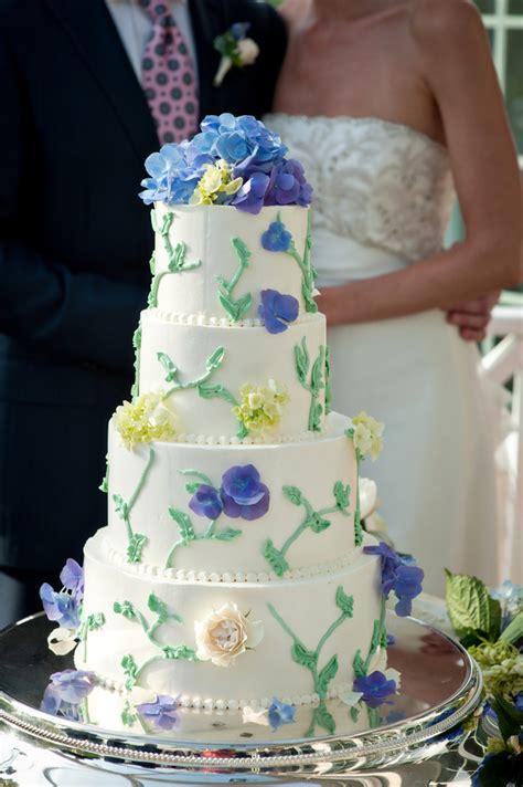 blue  green garden style wedding cake elizabeth anne designs  wedding blog