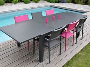 Salon De Jardin Aluminium : table de jardin rabattable ra51 jornalagora ~ Teatrodelosmanantiales.com Idées de Décoration
