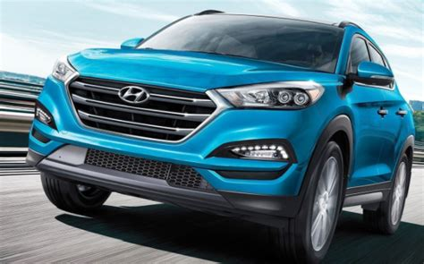 hyundai tucson suv colors release date redesign