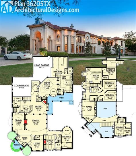1 luxury house plans 35 best luxurious floor plans images on house