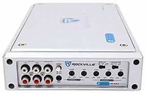 Rockville Rxm Atv Amplifier 1600w Peak 4