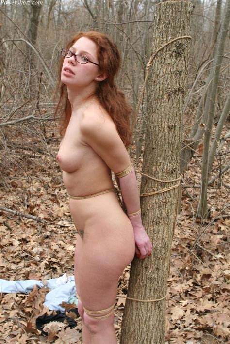 Stacie Abducted In The Woods Bondage Porn