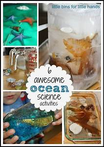 water sensory science activities for early learning play