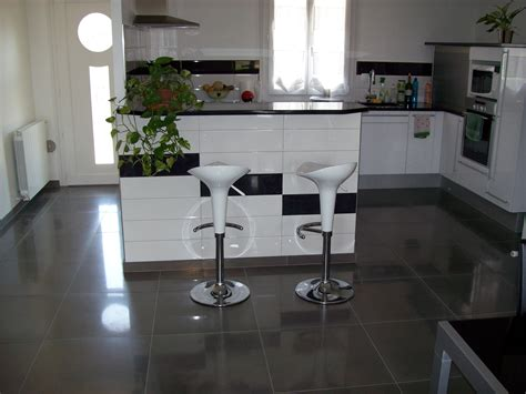 carrelage cuisine moderne carrelage sol salon cuisine