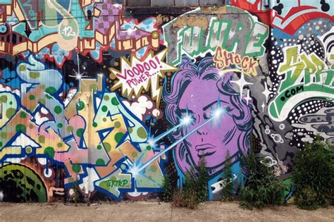 street art  graffiti  shoreditch london picture