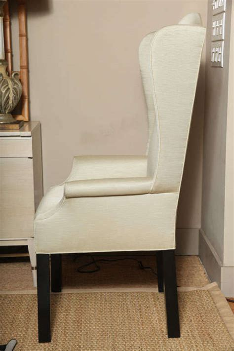 pair of wingback quot host and hostess quot chairs at 1stdibs