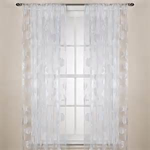 buy nantucket sheer 108 inch rod pocket window curtain
